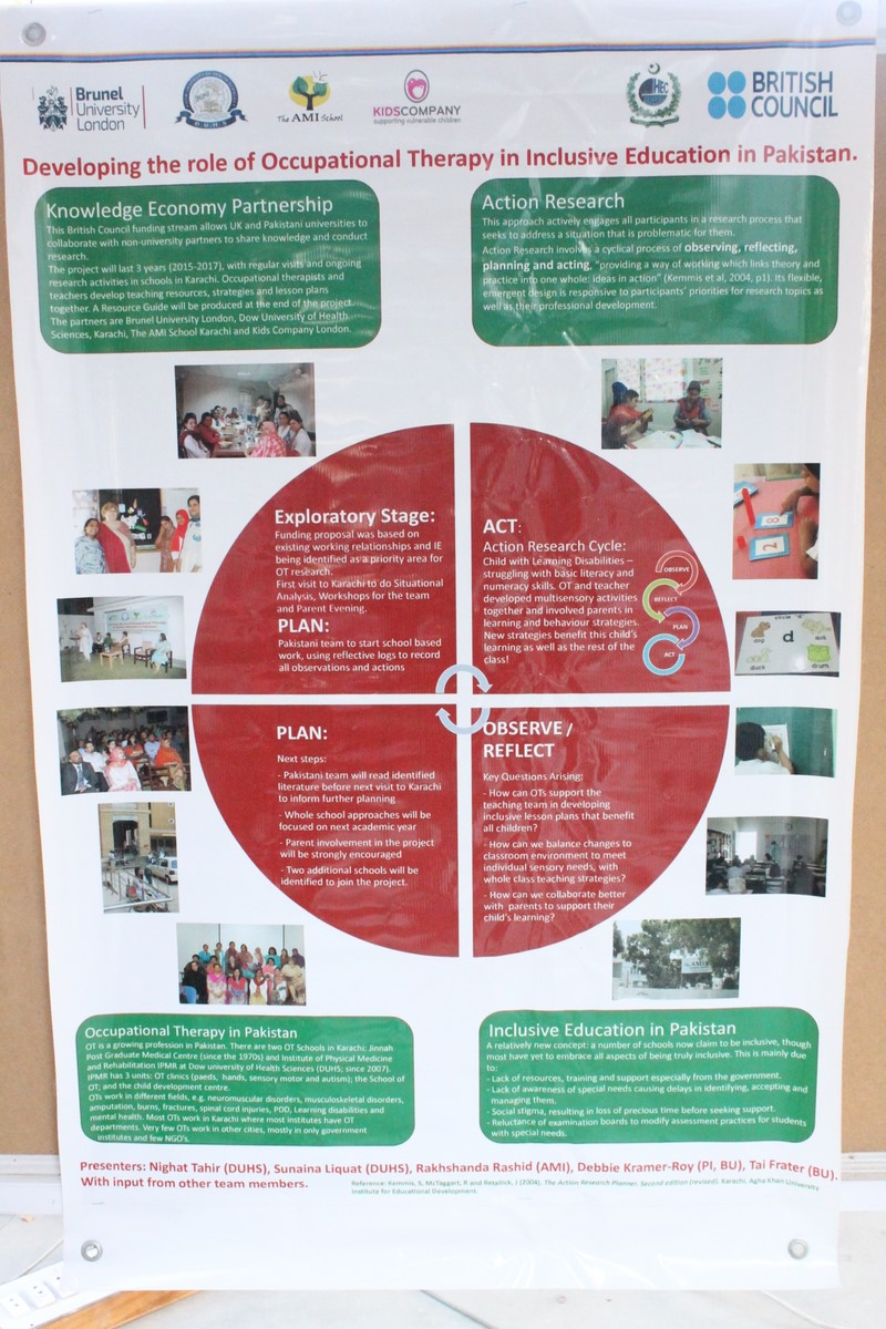 Occupational Therapy in Inclusive Education in Pakistan - OTIE Pakistan